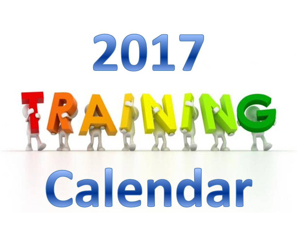 Year2017 Training Calendar