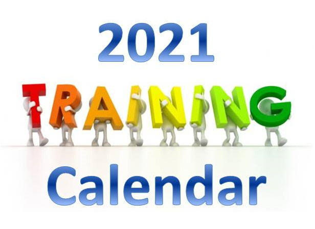 Year 2021 Training Calendar